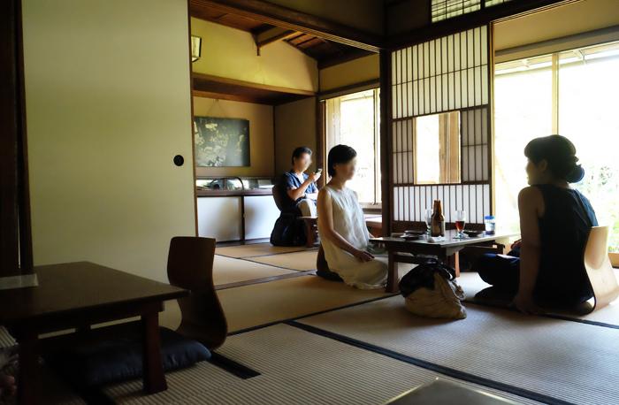 「大佛茶廊/おさらぎさろう」(鎌倉)