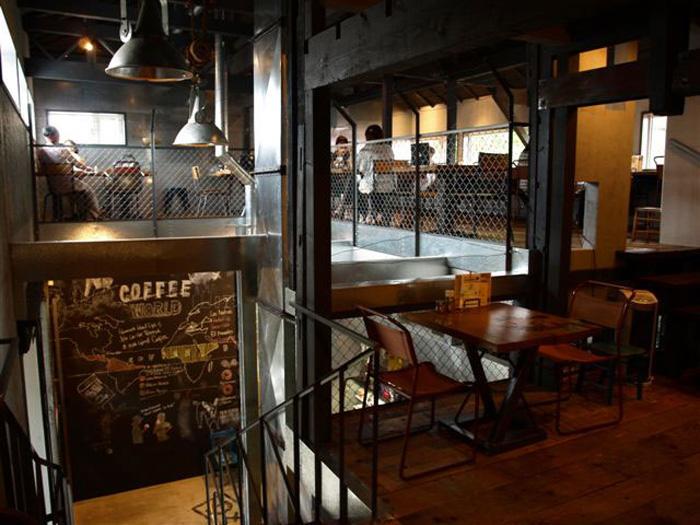 世界中の工場リノベーションカフェ